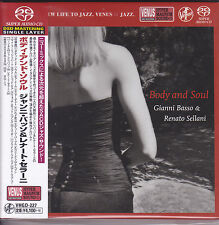 """Gianni Basso & Renato Sellani - Body And Soul"" Japan Venus Records DSD SACD CD"