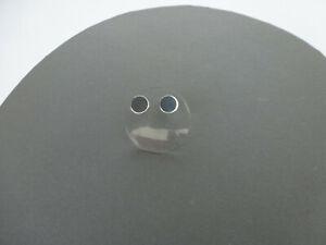 """Ohrstecker """" Glanz - Silber """" 925er Sterlingsilber  Durchmesser 10 mm"""
