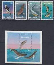 GRENADA :1983 Save the Whales  set + M/Sheet SG 1232-5+MS12363 MNH