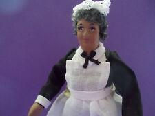 Dollhouse Doll 1:12 Black Maid Doll