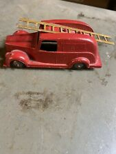 TIMPO TOYS VINTAGE 1945 RARE DIECAST DENNIS FIRE TRUCK WITH LONG LADDER