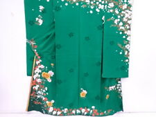 29292# JAPANESE KIMONO / VINTAGE KARIEBA FOR FURISODE / OUTLET ITEM / EMBROIDERY