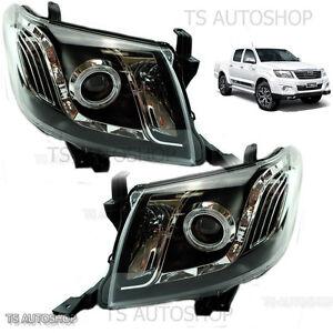 Projector Ccfl Led Head Light Lamp For Toyota Hilux Mk7 Vigo Champ Sr5 Kun 11 14