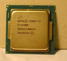 Intel Core i7-6700K  4.0Ghz  Quad Core CPU  LGA1151