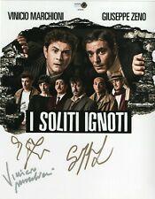 Vinicio Marchioni Giuseppe Zeno Augusto Fornari Autografo Foto Signed Cinema