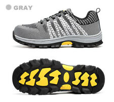 Womens Ladies Safety Shoes Fashion Steel Toe Breathable Hiking Climbing Boots