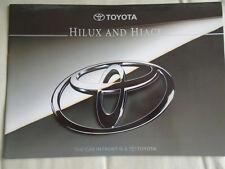 Toyota Hiace & Hilux brochure May 1995