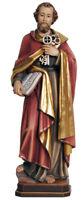Estatua San Pietro Apóstol - St. Peter Apostle Madera Tallada Statue