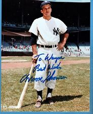 Moose Skowron-Ny Yankees Autographed 8X10 Color Photo (d.2012)