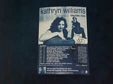 KATHRYN WILLIAMS SIGNED POSTER