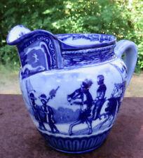 GENUINE ANTIQUE ROYAL DOULTON BLUE PITCHER