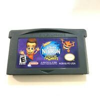 JIMMY NEUTRON BOY GENIUS: ATTACK OF THE TWONKIES NINTENDO GAMEBOY ADVANCE GBA