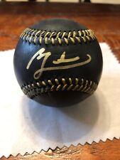 Ben Zobrist Signed Black Major League Baseball Beckett BAS Coa Chicago Cubs