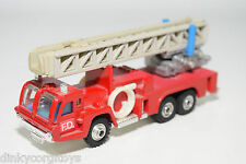 SHINSEI MINI POWER SNORKEL FIRE ENGINE LADDER TRUCK VERY NEAR MINT CONDITION