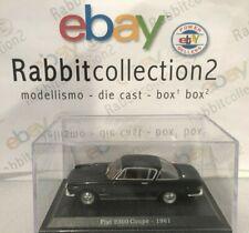 """Die Cast """" Fiat 2300 Coupe' - 1961 """" + Course Rigid Box 2 Scale 1/43"""