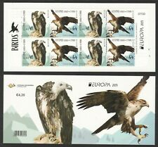 CYPRUS 2019 EUROPA JOINT ISSUE BIRDS (EAGLE & VULTURE) BOOKLET OF 8 STAMPS MINT