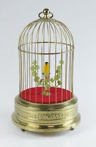 Spieluhr Singvogelautomat Karl Griesbaum Messing Dif17015 AVS17571 HD1