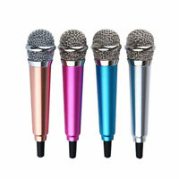 Mini Karaoke Condenser Wired 3.5mm Microphone Mic Mobile Phone For Android