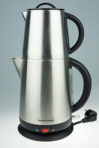 Wasserkocher Teemaschine mit autom. Abschaltung und zuschaltb. Warmhaltefunktion