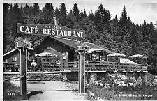 Carte SUISSE LA GIVRINE PRES SAINT CERGUE Caf Restaurant ML COMTE