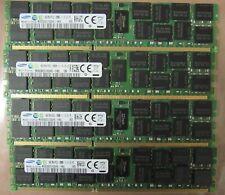 SAMSUNG 64GB PC3-12800R 4x16GB 2Rx4 DDR3 M393B2G70QH0-YK0 DELL POWEREDGE