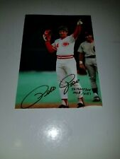 Pete Rose Numbered Ultimate Fan Collectibles 3 X 5 Photo