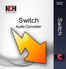 Switch Audio File Converter Software Convert Audio wav, mp3, wma, mp2, m4a etc