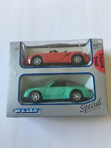 Welly Special Collection 1:38 2 Cars Diecast