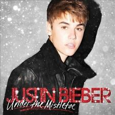 Under the Mistletoe [CD/DVD] Deluxe Edition by Justin Bieber (CD, 2011, 2 Discs)