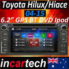 Toyota Hilux Hiace 02-16 HeadUnit GPS Navigatio Car Stereo DVD Bluetooth Sydney