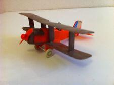 Avion miniature RAF SE 5a en plastique (Made in West Germany)