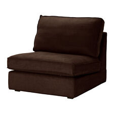 Ikea Kivik One (1) Seat Section Chair Cover - Tullinge Dark Brown 202.003.19