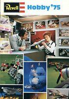 Revell Modellbausätze Katalog 1975 Schiffe Flugzeuge Autos Motorräder Panzer