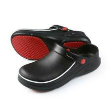 Mens Chef Shoes in Kitchen Nonslip Safety Shoes Oil & Water Proof For Cook Eva