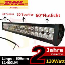 """24"""" 120W Led Offroad Scheinwerfer 4WD light bar Arbeitslampe aussenleuchte KFZ"""