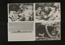 1964 Voyage to the Bottom of the Sea 4 Card Lot VG *H175