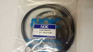NEW AFTERMARKET  SEAL KIT FOR KAWASAKI K5V160DTP FOR HYDRAULIC EXCAVATOR
