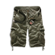 Men Military Army Pant Camouflage Combat Camo Tactical Trouser Work Cargo Shorts