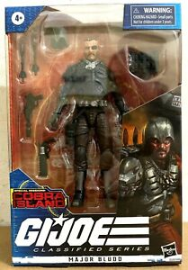 "DHL FAST SHIPPING HASBRO G.I.JOE CLASSIFIED SERIES 6"" MAJOR BLUDD ACTION FIGURE"