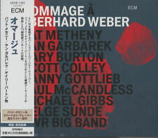 JAN GARBAREK. PAT METHENY. GARY BURTON. SWR BIG BAND-HOMMAGE-JAPAN CD F56