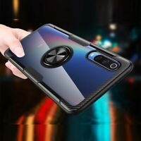 For Xiaomi Redmi Note 8 Pro 8T Mi 9T Pro 8 Hybrid Clear Magnetic Stand PC Case