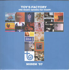 Toy's Factory: The Music Speaks for Itself - MIDEM '97 by VA (CD) Japan Label..