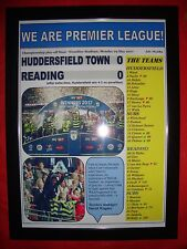 Huddersfield Town 0 Reading 0 - 2017 Championship play-off final - framed print