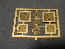 134K Simplon Model HO Set 7 tombini di 3 differenti misure