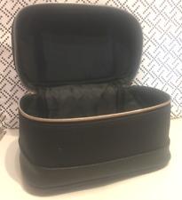 Tresemme Large Black Vanity Case Makeup Cosmetics Toiletries Bag Zip Closure NEW