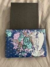 We Are Owls Minty Small Clutch - Teal , NEW