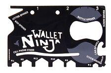 Multi-Purpose 18 in 1 Credit Card Sized DIY Tool Wallet Ninja Screwdriver Gift