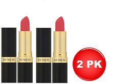 2x Revlon Super Lustrous Lipstick Matte 674 Coralberry