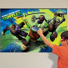 Teenage Mutant Ninja Turtles Party game (TMNT Birthday Party Decoration)