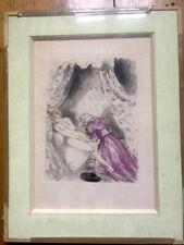 louis icart gravure etching original felicia ou mes fredaines erotique erotic
